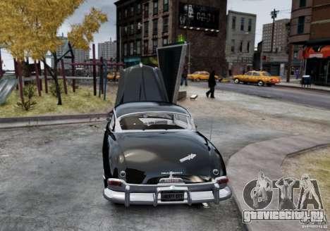 Hudson Hornet Club Coupe для GTA 4 вид сзади слева