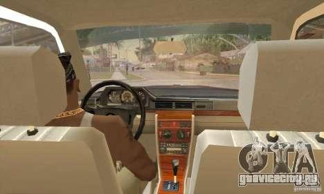 Mercedes-Benz 200D [W124] (1985) для GTA San Andreas вид справа