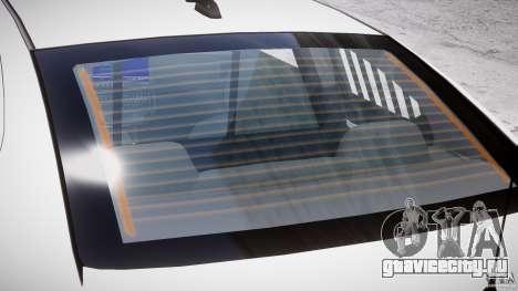 Dodge Charger FBI Police для GTA 4 двигатель