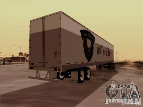 Hell Riders American для GTA San Andreas вид сзади слева
