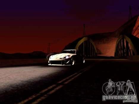 Nissan 350Z Avon Tires для GTA San Andreas вид сзади
