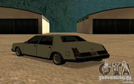 FBI Washington для GTA San Andreas вид сзади слева