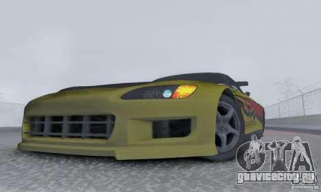 Honda S2000 Tunable для GTA San Andreas вид справа