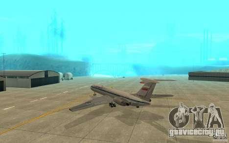 Ил-62М Аэрофлот для GTA San Andreas вид справа