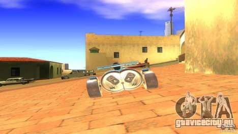 PEPSI car для GTA San Andreas вид сзади слева