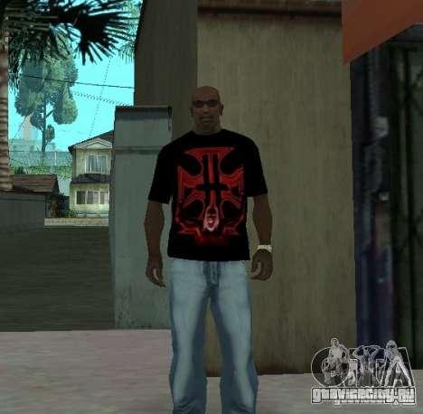 Футболка Triple-H для GTA San Andreas