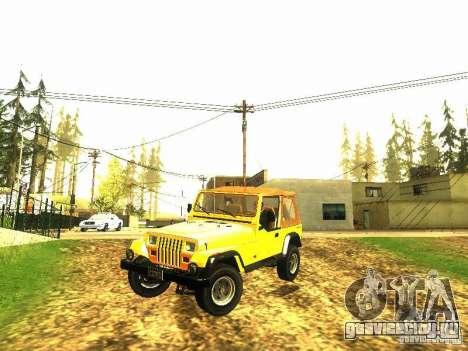 Jeep Wrangler Convertible для GTA San Andreas