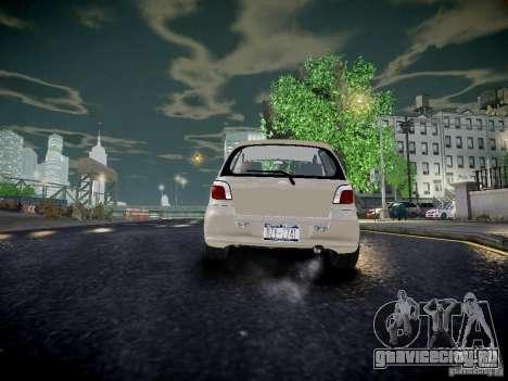 Toyota Vitz для GTA 4 вид сзади слева