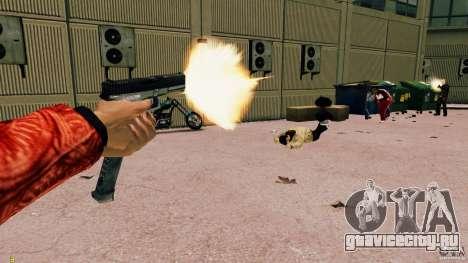 Glock 18 Akimbo (черно-серый) для GTA 4 четвёртый скриншот