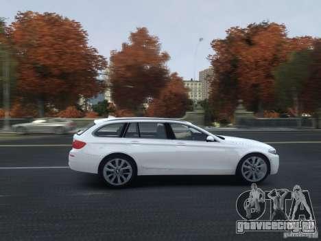 BMW M5 F11 Touring V.2.0 для GTA 4 вид сбоку
