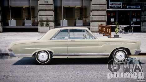 Ford Mercury Comet 1965 для GTA 4 салон