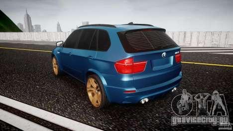 BMW X5 M-Power wheels V-spoke для GTA 4 вид сзади слева