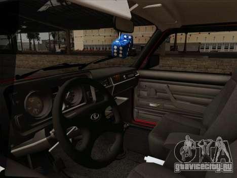 ВАЗ 21054 для GTA San Andreas вид сверху