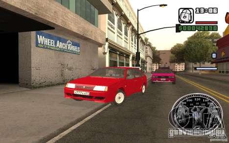 ВАЗ 21093i для GTA San Andreas двигатель