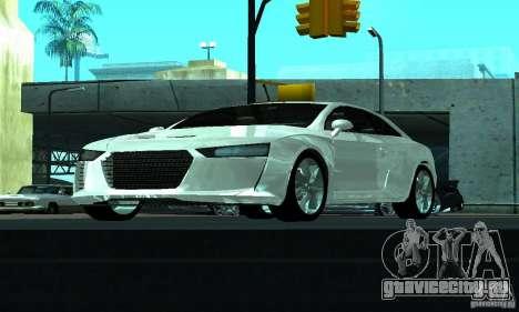 Audi Quattro Concept 2013 для GTA San Andreas вид сбоку
