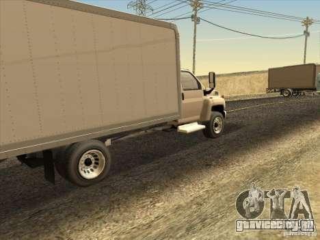 GMC 5500 2001 для GTA San Andreas вид справа