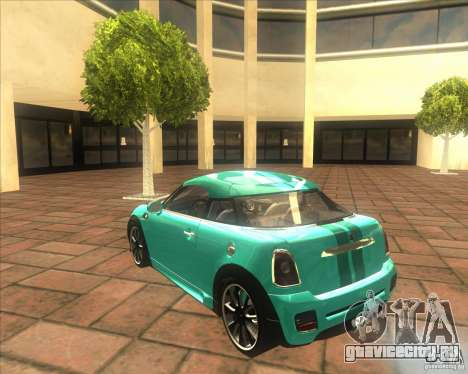 Mini Coupe 2011 Concept для GTA San Andreas вид справа