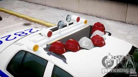 Ford Crown Victoria NYPD для GTA 4 салон