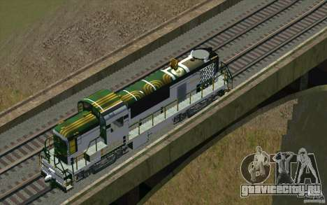 Maine Central RS3 для GTA San Andreas вид снизу