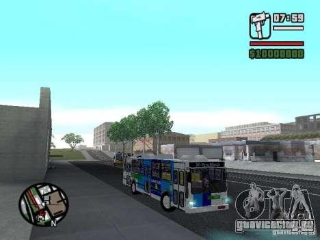 Cobrasma Monobloco Patrol II Trolerbus для GTA San Andreas вид сзади