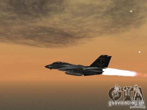 F-14 для GTA San Andreas вид слева