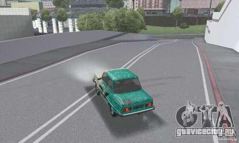 ЗАЗ 968м побитый для GTA San Andreas вид сбоку