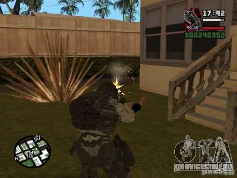 Локаст Grunt из Gears of War 2 для GTA San Andreas третий скриншот
