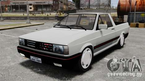 Volkswagen Saveiro 1990 Turbo для GTA 4