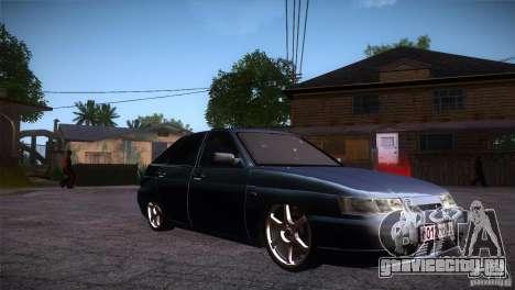 ВАЗ 2112 LT для GTA San Andreas вид сзади