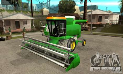 Combine Harvester Retextured для GTA San Andreas