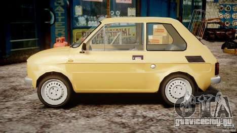 Fiat 126p 1976 для GTA 4 вид слева