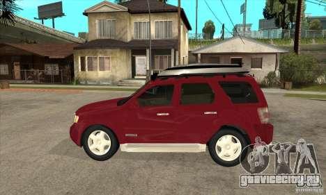 Ford Escape 2009 для GTA San Andreas вид слева