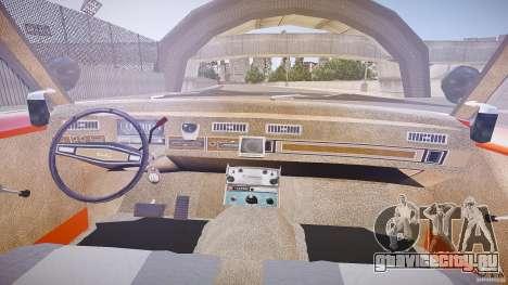 AMC Matador Hazzard County Sheriff [ELS] для GTA 4 вид сзади