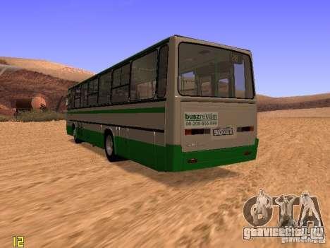 Ikarus C63 для GTA San Andreas вид сзади слева