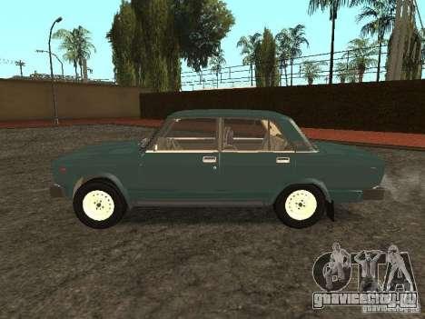 ВАЗ 2105 v.2 для GTA San Andreas вид слева