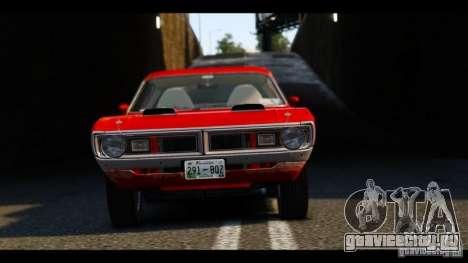 Dodge Demon 1971 для GTA 4 вид сбоку