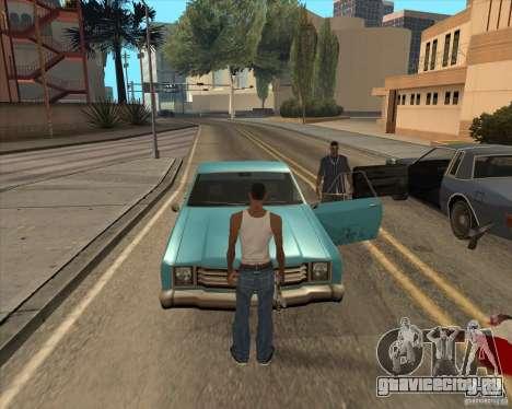 Водители выходят из машины для GTA San Andreas второй скриншот