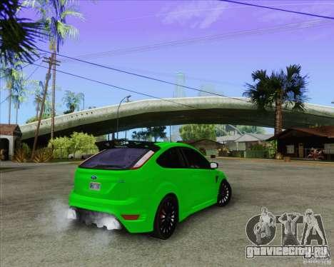 Ford Focus RS для GTA San Andreas вид сбоку