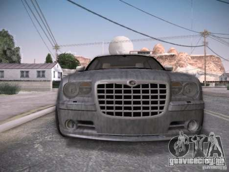 Chrysler 300C SRT8 для GTA San Andreas салон