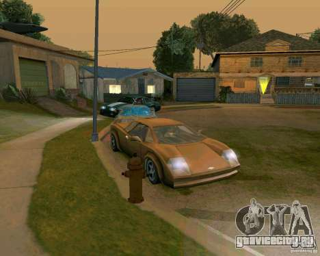 Infernus from Vice City для GTA San Andreas вид слева
