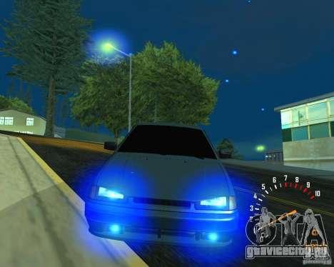 ВАЗ 2113 Ferarri для GTA San Andreas вид снизу