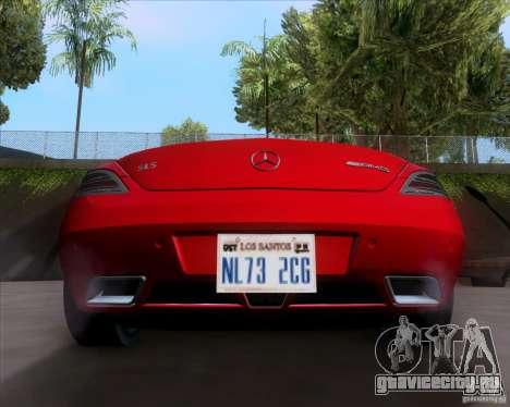 Mercedes-Benz SLS AMG V12 TT Black Revel для GTA San Andreas вид справа