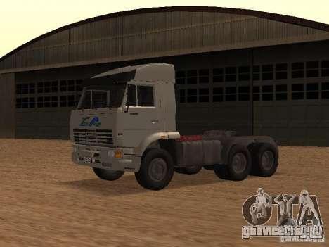 КамАЗ 6460 для GTA San Andreas вид слева