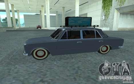 ВАЗ-2101 Retro Style для GTA San Andreas вид слева