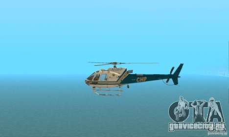 AS350 Ecureuil для GTA San Andreas вид слева