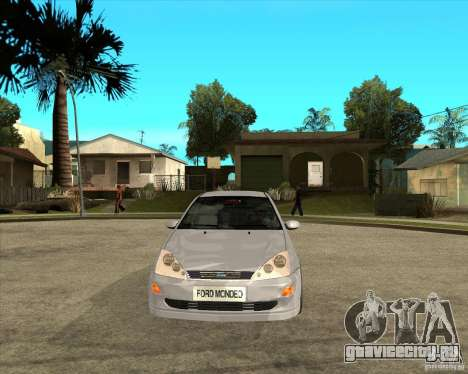 Ford Focus Sedan для GTA San Andreas вид сзади