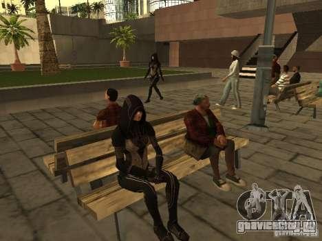 Girls from ME 3 для GTA San Andreas пятый скриншот