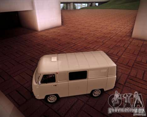 УАЗ 37419-210 для GTA San Andreas вид слева