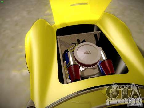 Shelby Cobra 427 для GTA San Andreas вид снизу
