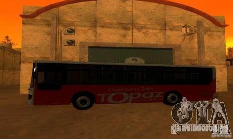 Daewoo Bus BC211MA для GTA San Andreas вид слева